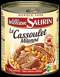 WILLIAM SAURIN - Le Cassoulet Mitonné