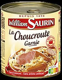 WILLIAM SAURIN - La Choucroute Garnie