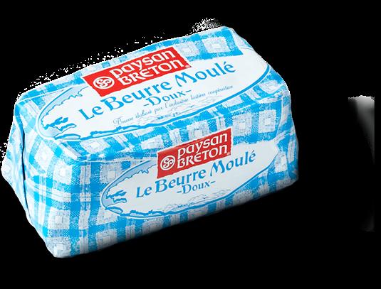 PAYSAN BRETON - Le Beurre Moulé - Doux