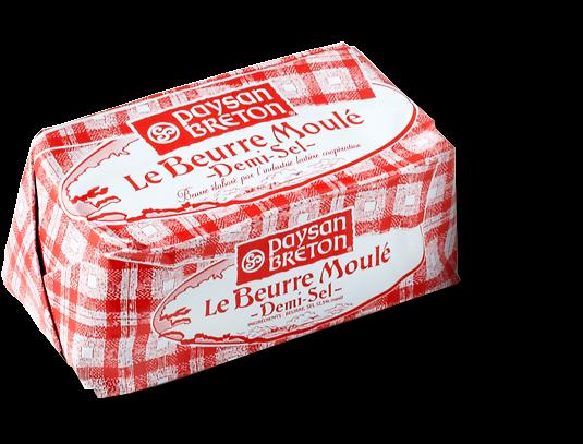 PAYSAN BRETON - Le Beurre Moulé - Demi-Sel