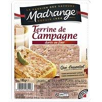 MADRANGE - Terrine de Campagne - Dorée au Four 180G