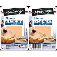 MADRANGE - Mousse de Canard au Porto 2X100G