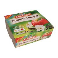 ANDROS - Compote Pomme Vanille