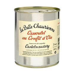 LA BELLE CHAURIENNE - Cassoulet au Confit d'Oie 840G