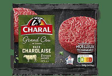 CHARAL - Steaks Hachés Grand Cru Charolaise