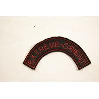 Copie patch / attribut / insigne de bras Extreme-Orient commando Indochine