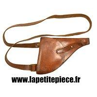 Etui simplifié avec banderole revolver 1892 Français Première Guerre Mondiale.
