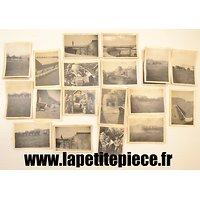 Lot de photos Armée Belge FT18 Tournai 1920