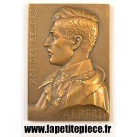 Médaille commémorative Albert 1er Roi des Belges 1914