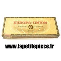 Boite de cigares Allemands EUROPA-UNION
