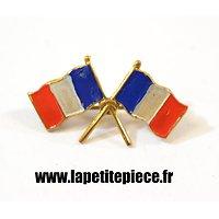 Broche patriotique Drapeau Français