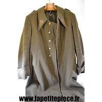 Manteau d'officier modèle 1932, monté 91 RI de Mézières (Ardennes)
