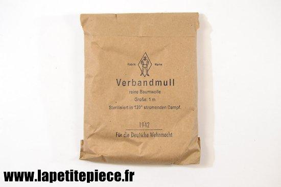Gaze - Verbandmull 1942 Für die Deutsche Wehrmacht