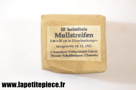 Bande de gaze - Mullstreifen 1942