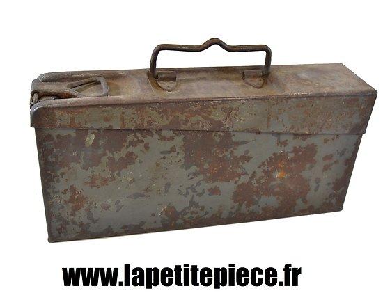 Caisse MG 08-15 Allemande Première Guerre Mondiale