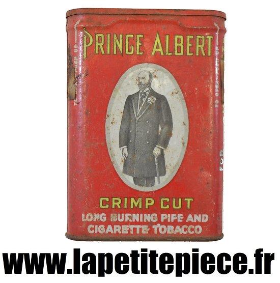 Boite de tabac américaine Deuxième Guerre Mondiale. Prince Albert