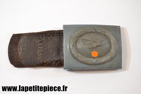 Reproduction de boucle luftwaffe fer avec patelette