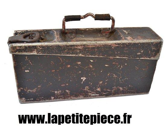 Caisse MG aluminium Luftwaffe Deuxième Guerre Mondiale