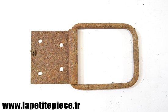 Poignée 12cm x 12,5cm de caisse Allemande Première Guerre Mondiale