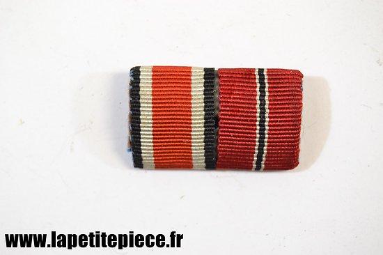 Barette de rappel de médailes Armée Allemande WW2.