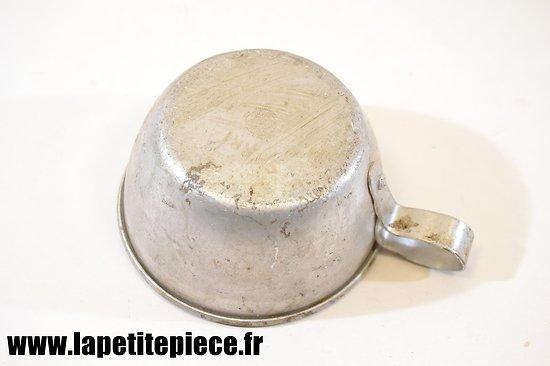 Quart en aluminium France WW2