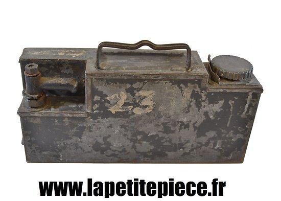 Caisse de refroidissement pour MG 08-15 Première Guerre Mondiale