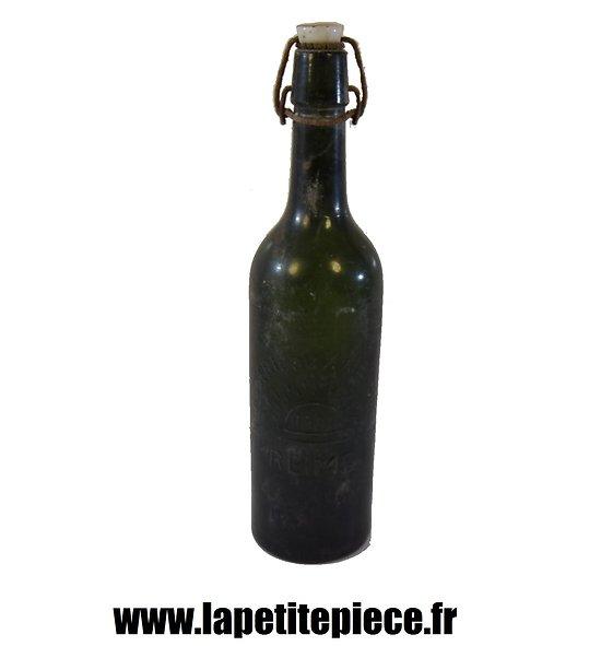 Bouteille de bière Française époque Deuxième Guerre Mondiale