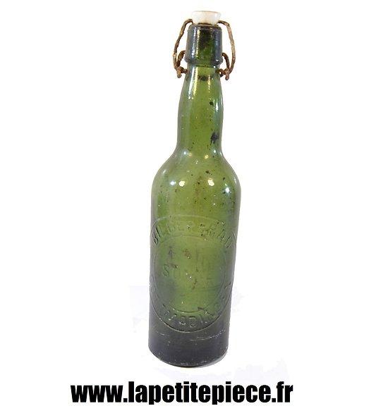 Bouteille de bière Allemande époque Première Guerre Mondiale