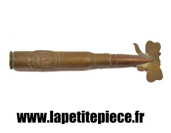 Souvenir artisanat de tranchée Première Guerre Mondiale
