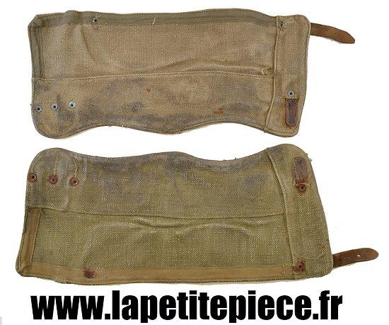 Paire de guêtres modèle 1945 - France Indochine