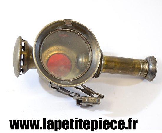 Lampe / phare pour véhicule hypomobile Allemand époque Première Guerre Mondiale