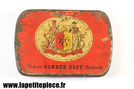 Boite de tabac Belge années 1930. VENDER ELST