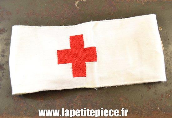Brassard infirmier Armée Allemande Deuxième Guerre Mondiale