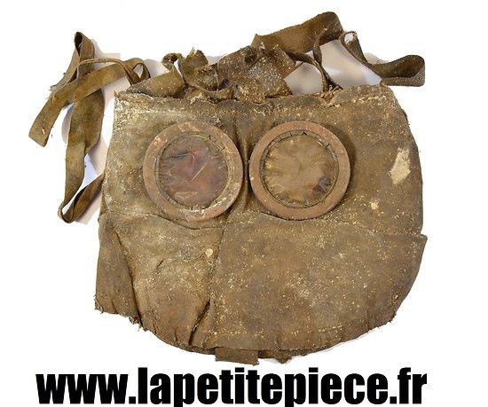 Masque à gaz M2B France Première Guerre Mondiale