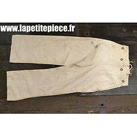 Pantalon H.J. taille 10, AHS Deuxième Guerre Mondiale