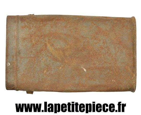 Boitier de masque à gaz Français M2 Première Guerre Mondiale