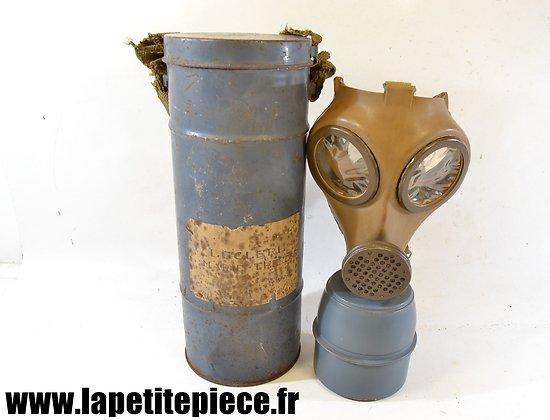Masque à gaz défense passive, Charleville (Ardennes)