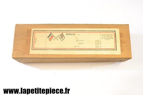 Boite postale Allemande Première Guerre Mondiale. Feldpost