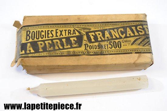 Paquet de bougies Françaises époque Première Guerre Mondiale
