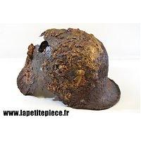 Coque de casque Allemand modèle 1916 - mauvais état