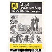 Livret de propagande pour les camps de Jeunesses des Flandres (Belgique)