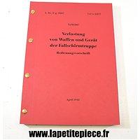 Dossier sur les containers de parachutage de l'Armée Allemande - Verlastung von waffen und Gerät der Fallschirmtruppe