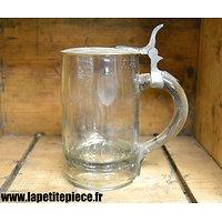 Chope à bière Allemand début 20e Siècle