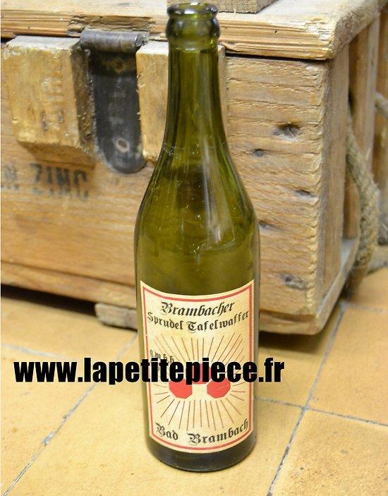 Bouteille de limonade Allemande WWII Brambacher