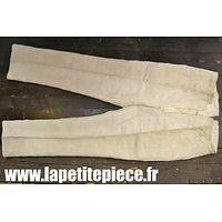 Pantalon bourgeron Français Première Guerre Mondiale