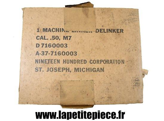 Carton de machine à garnir US M7 Cal. .50