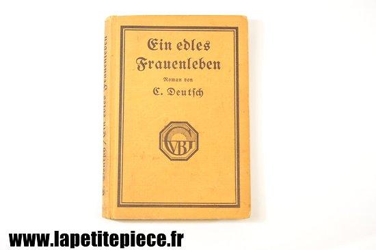 Livre Allemand Première Guerre Mondiale