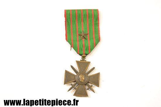 Croix de Guerre avec citation, 1914 - 1916