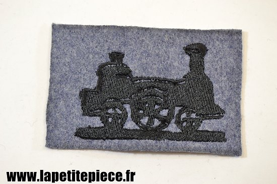Repro insigne / attribut de manche Compagnie d'ouvriers militaires de chemins de fer