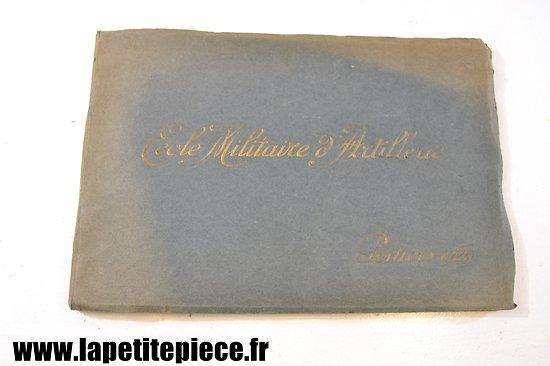 Livre photos Ecole d'Artillerie de Poitiers 1929